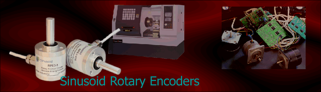 Sinusoid RPE3 Rotary Encoder Uses
