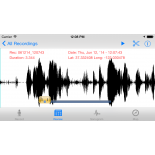 Sonocord ; sonogram, sound recording view